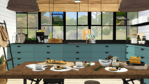 Kitchen 1 recolors at Viikiita Stuff image 135 Sims 4 Updates