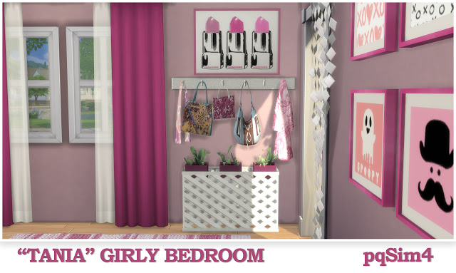 Tania Girly Bedroom at pqSims4 image 1354 Sims 4 Updates