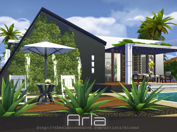 Arla house by Rirann at TSR image 1379 Sims 4 Updates