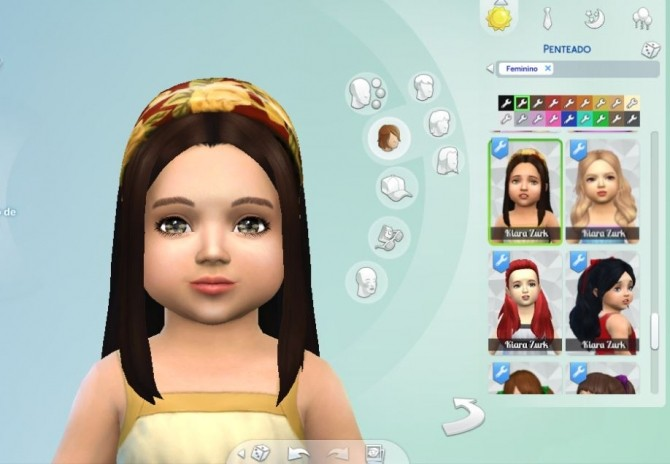 Weekend Headband Hair Conversion at My Stuff image 1396 670x464 Sims 4 Updates