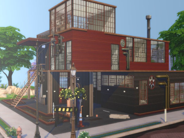 Contained house by Torque3 at TSR image 1407 Sims 4 Updates