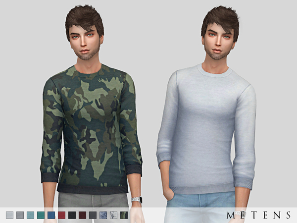 Sean Sweaters By Metens At Tsr 187 Sims 4 Updates