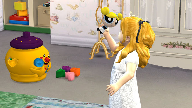 Powerpuff Girls Toy Set for Toddlers and Kids at Sanjana sims image 1414 Sims 4 Updates
