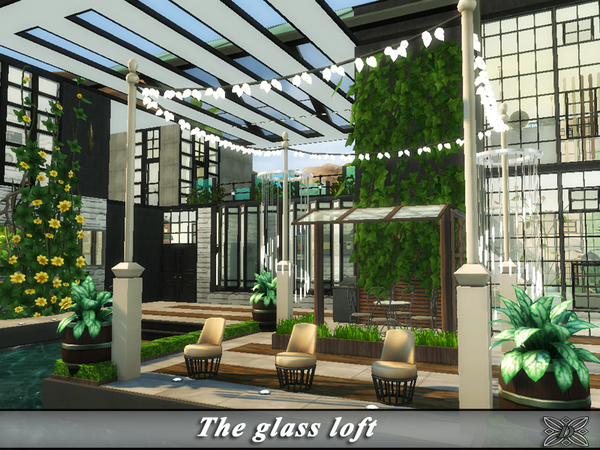 The glass loft by Danuta720 at TSR image 1419 Sims 4 Updates