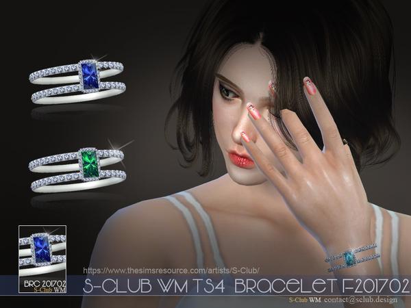 Sims 4 Bracelet F201702 by S Club WM at TSR