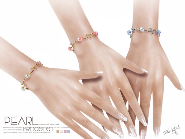 Bracelet N08 by S Club LL at TSR image 1428 Sims 4 Updates