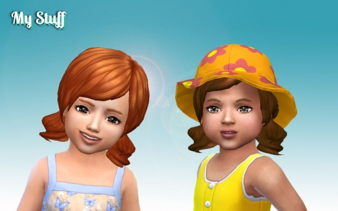 Dolly Hair for Toddlers at My Stuff image 1435 670x418 Sims 4 Updates