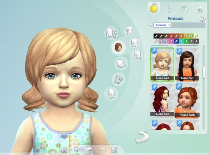 Dolly Hair for Toddlers at My Stuff image 1454 670x496 Sims 4 Updates