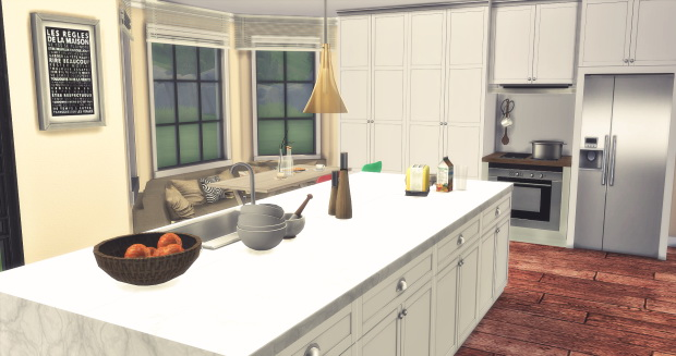 Lofty Kitchen at AymiasSims image 1466 Sims 4 Updates