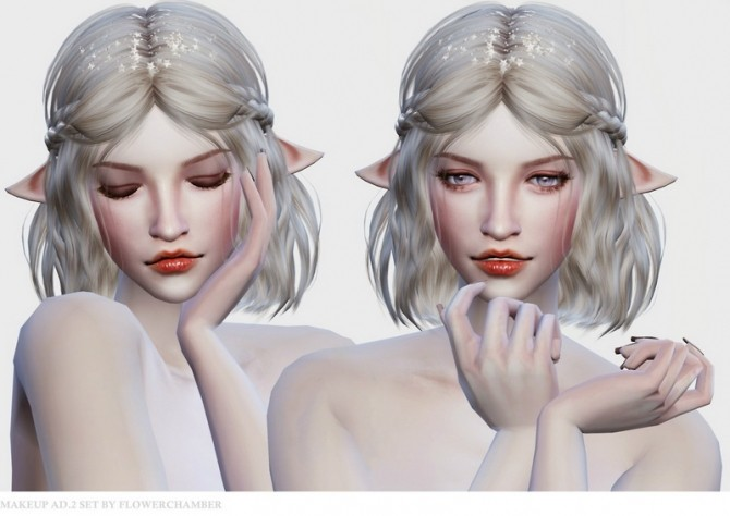 Make Up Ad. ver.2 Poses Set at Flower Chamber image 1471 670x474 Sims 4 Updates