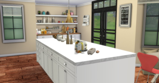 Lofty Kitchen at AymiasSims image 1476 Sims 4 Updates