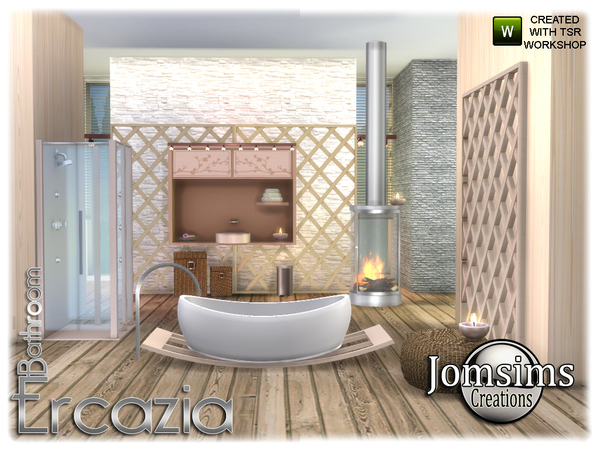 Ercazia bathroom by jomsims at TSR image 1487 Sims 4 Updates