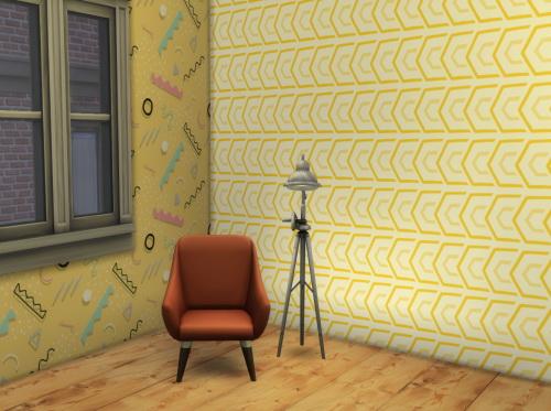 Sims 4 Hipster wallpaper at ChiLLis Sims