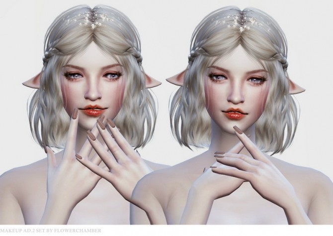 Make Up Ad. ver.2 Poses Set at Flower Chamber image 1491 670x474 Sims 4 Updates