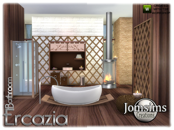Ercazia bathroom by jomsims at TSR image 1498 Sims 4 Updates