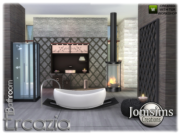 Ercazia bathroom by jomsims at TSR image 1508 Sims 4 Updates