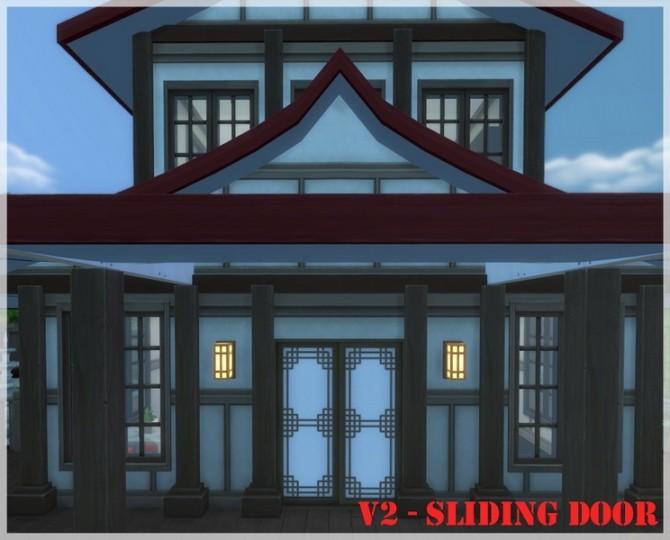 Asian paper sliding doors V2 by Mathcope at Sims 4 Studio image 15112 670x540 Sims 4 Updates