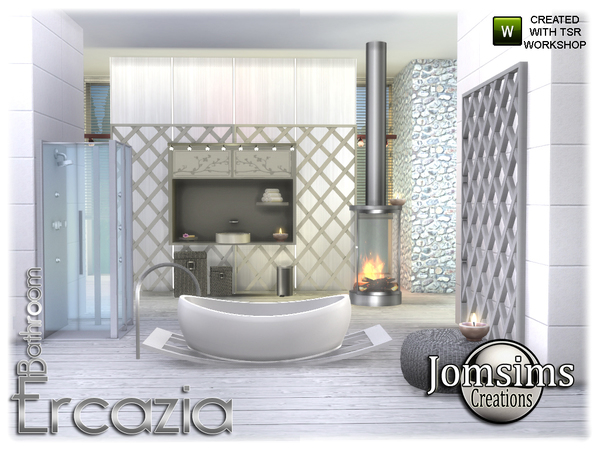 Ercazia bathroom by jomsims at TSR image 15114 Sims 4 Updates