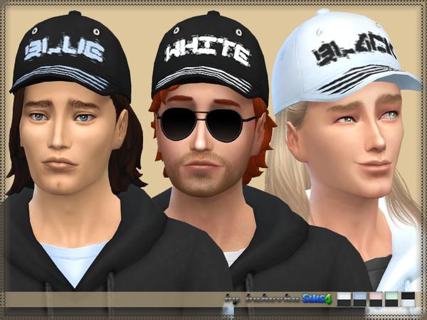 Sims 4 Hoodie and cap by bukovka at TSR