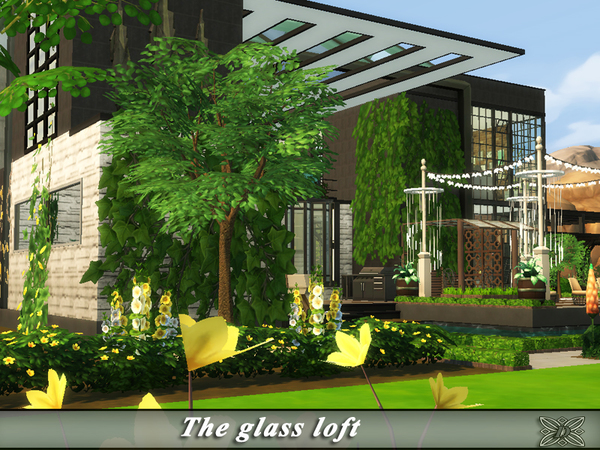 The glass loft by Danuta720 at TSR image 1518 Sims 4 Updates