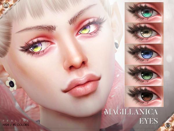 Sims 4 Magillanica Eyes N126 by Pralinesims at TSR