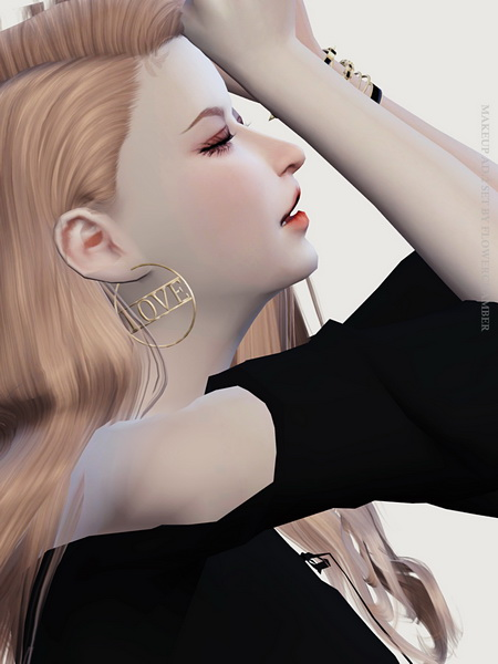 Make Up Ad. ver.2 Poses Set at Flower Chamber image 1521 Sims 4 Updates