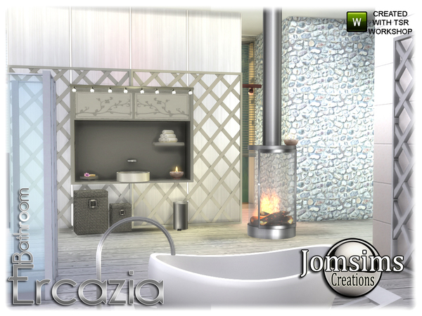 Ercazia bathroom by jomsims at TSR image 15211 Sims 4 Updates