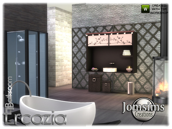 Ercazia bathroom by jomsims at TSR image 15310 Sims 4 Updates