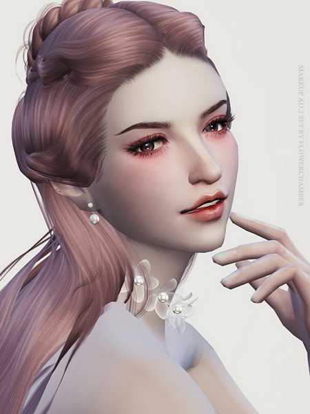 Make Up Ad. ver.2 Poses Set at Flower Chamber image 1541 Sims 4 Updates