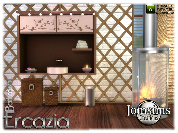 Ercazia bathroom by jomsims at TSR image 1547 Sims 4 Updates