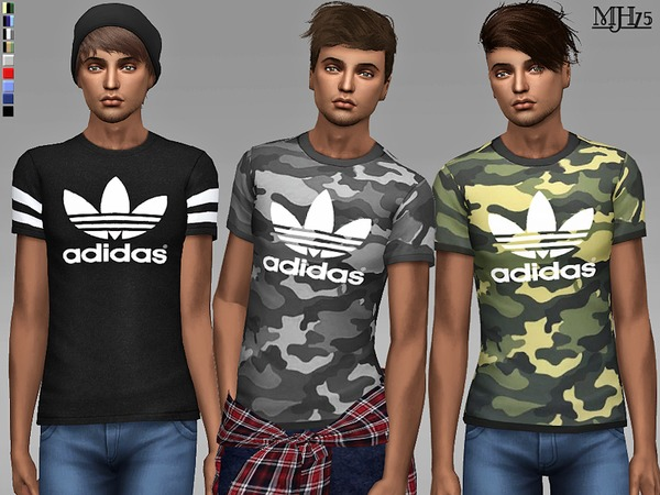 Jackson T Shirts by Margeh 75 at TSR image 1549 Sims 4 Updates