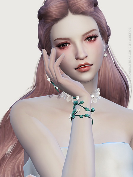 Make Up Ad. ver.2 Poses Set at Flower Chamber image 1551 Sims 4 Updates