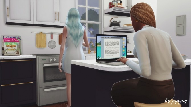 Sims 4 Apple Set at Pyszny Design
