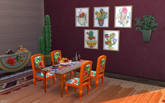 Mexican Art by ihelen at ihelensims image 158 670x419 Sims 4 Updates