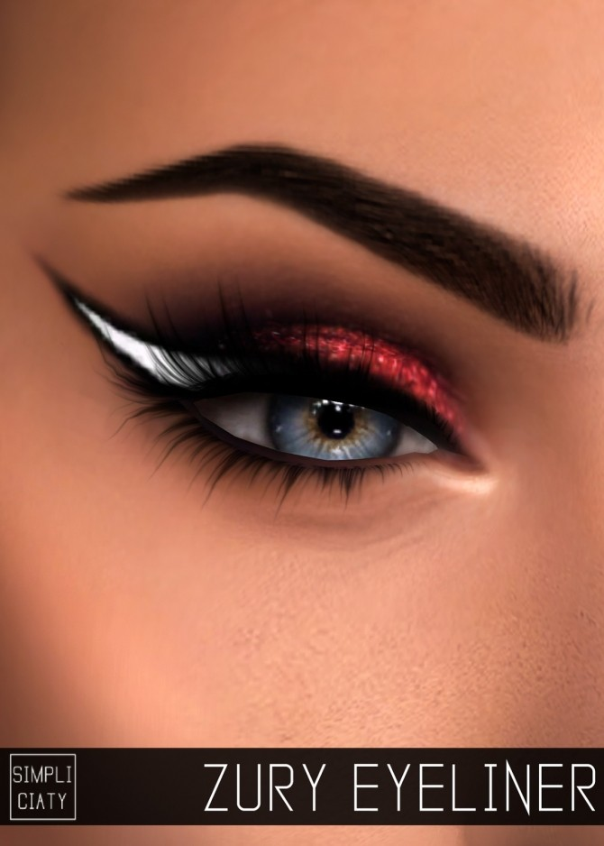 ZURY EYELINER at Simpliciaty image 1583 670x938 Sims 4 Updates
