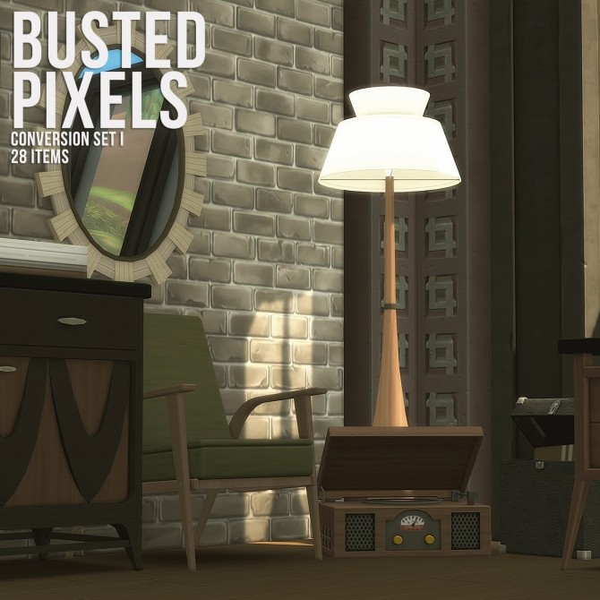 Conversion Set i at Busted Pixels image 1585 670x670 Sims 4 Updates