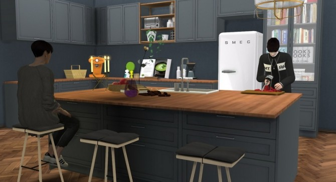 S Series Kitchen at Minc7878 image 1612 670x364 Sims 4 Updates