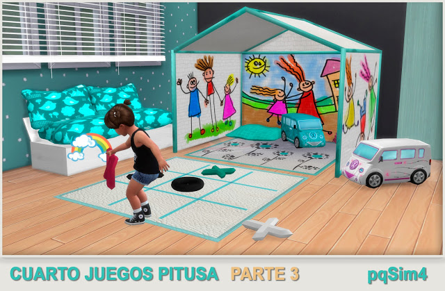 Pitusa game room final part by Mary Jiménez at pqSims4 image 162 Sims 4 Updates