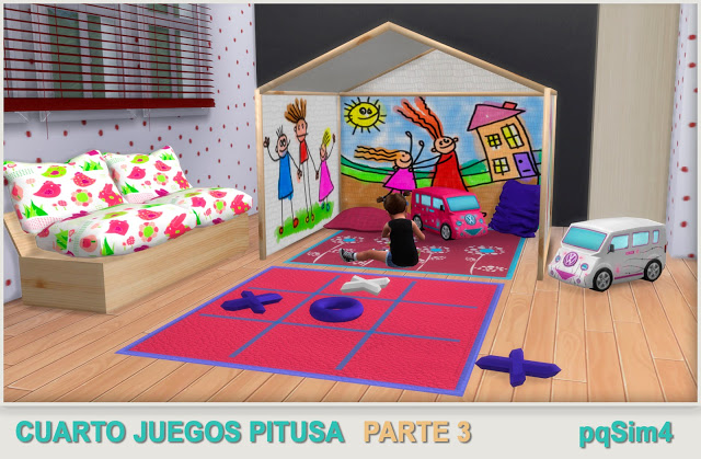 Pitusa game room final part by Mary Jiménez at pqSims4 image 163 Sims 4 Updates