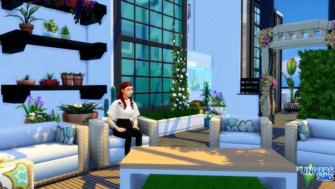 Sims 4 Industrial Pop Penthouse by Lyrasae93 at L'UniverSims