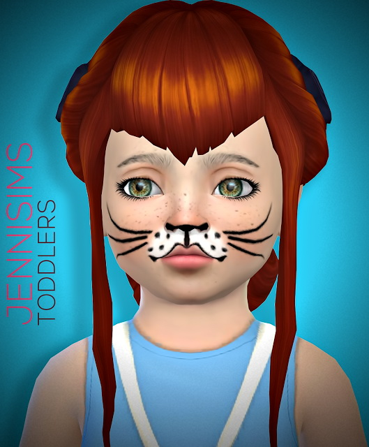 Sets Toddlers Face Paint at Jenni Sims image 1675 Sims 4 Updates