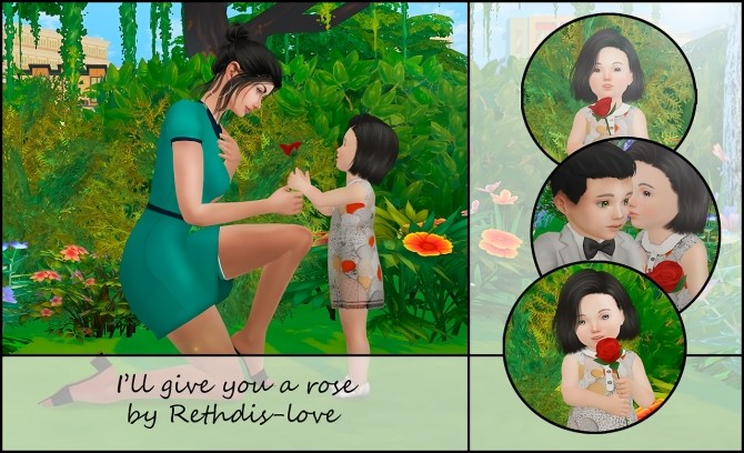 I'll give you a rose posepack at Rethdis love image 1681 670x408 Sims 4 Updates