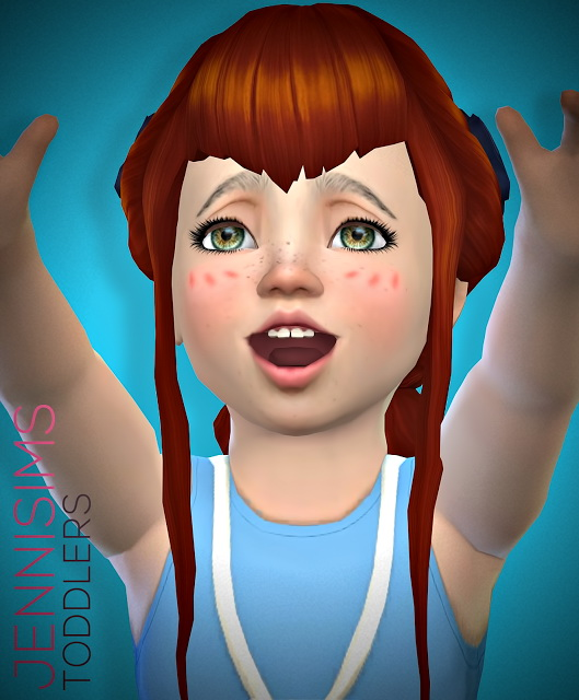 Sims 4 Sets Toddlers Face Paint at Jenni Sims