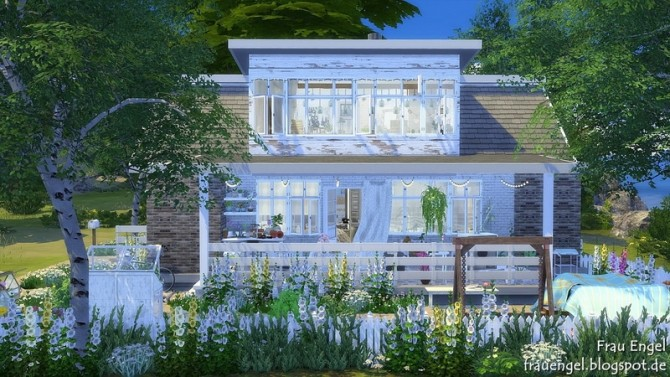 Spring Love house by Julia Engel at Frau Engel image 17113 670x377 Sims 4 Updates