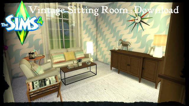 Vintage Sitting Room at Pandasht Productions image 1726 Sims 4 Updates