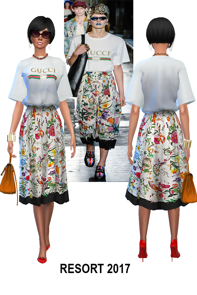 March collections: 3 designer sets at Rhowc image 1730 Sims 4 Updates