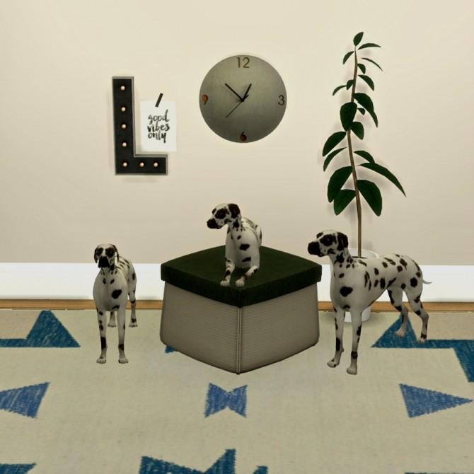 Sims 4 Dalmatas Deco at Leo Sims