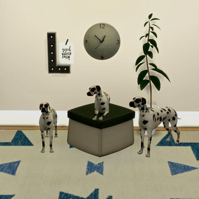Dalmatas deco at leo sims sims 4 updates for Deco appartement sims 4