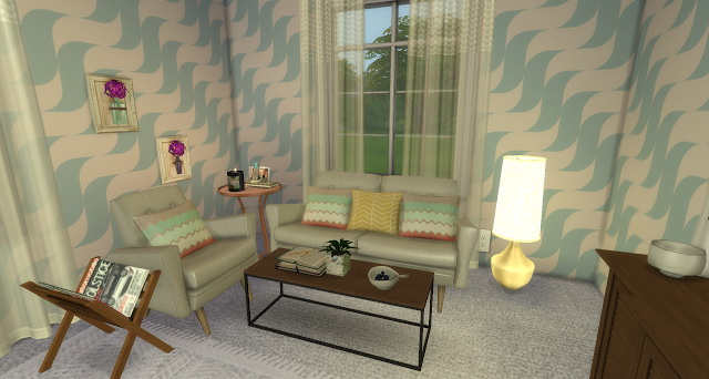 Vintage Sitting Room at Pandasht Productions image 1735 Sims 4 Updates