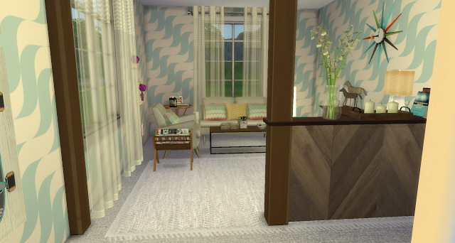 Vintage Sitting Room at Pandasht Productions image 1744 Sims 4 Updates